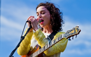 St. Vincent at TIMF Day 2 - by Moses Namkung
