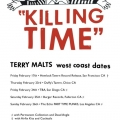 Terry Malts tour poster