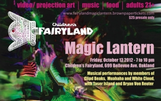 Magic Lantern benefit flier