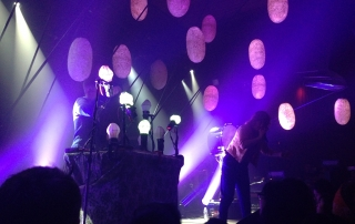 Purity Ring @ The Independent 4/16/13 - photo by Tim Draut