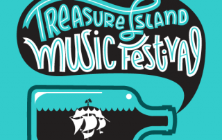 2013 Treasure Island Music Festival Logo