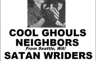 Cool Ghouls Neighbors Satan Wriders