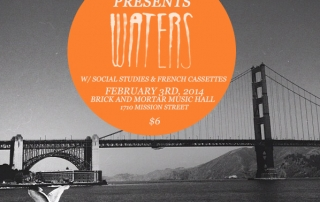 WATERS Residency Week 1 Flyer