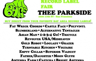 bay area record label fair
