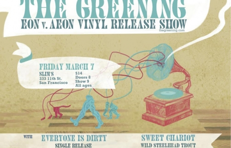 Giveaway: The Greening record release at Slim's