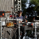 Robert DeLong @ BottleRock 2014 - Photo by Daniel Kielman