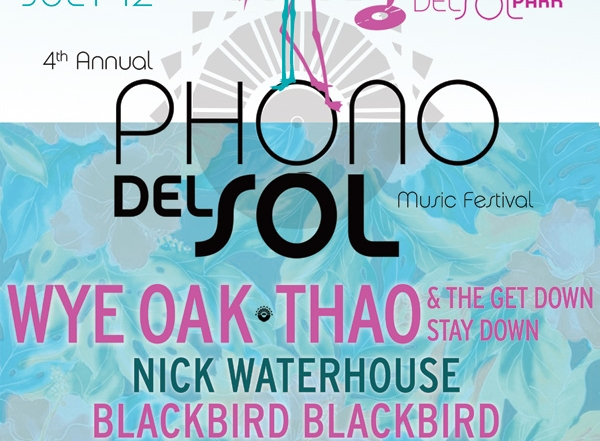 Thirty-five reasons you can't miss the 2014 Phono del Sol Music Festival!