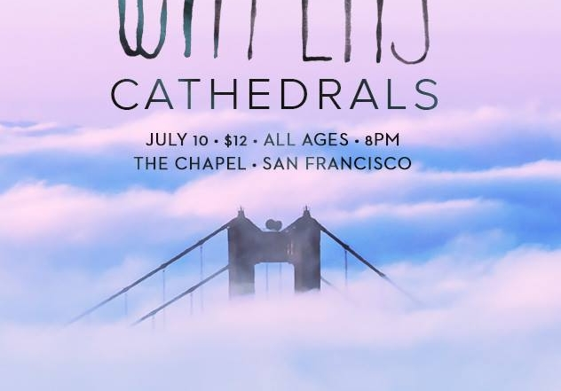 WATERS joined by CATHEDRALS at The Chapel tomorrow night