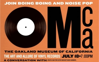 Boing Boing/Noise Pop vinyl event
