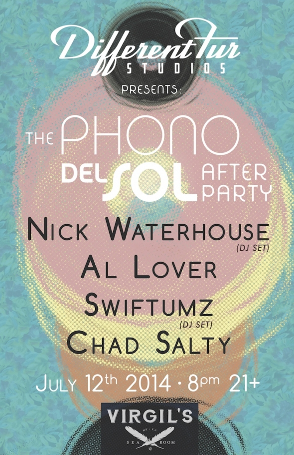 Nick Waterhouse is DJing our Phono del Sol After-Party!