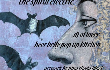 Spindrift heads to Milk Bar for a multimedia show