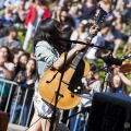 Thao and the Get Down Stay Down at Phono del Sol 2014 - Photo by Daniel Kielman