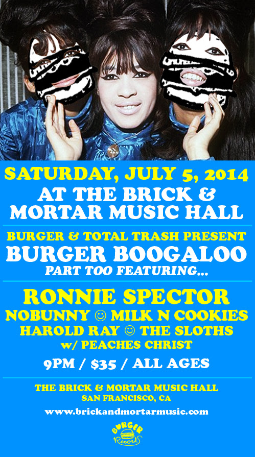 Ronnie Spector (Burger Boogaloo After-Party)