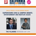 The Bay Bridged Presents: Supervisors Chiu & Campos Debate: Nightlife Issues