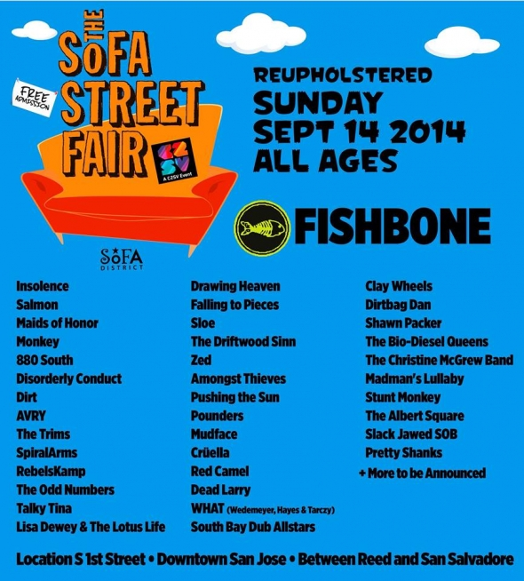 Interview: SoFA Street Fair returns with eclectic day of free music in San Jose