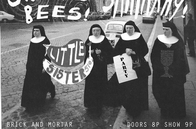 Little Sister EP release party at Brick & Mortar tomorrow with She Keeps Bees and Shilpa Ray