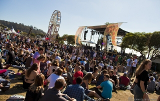 Crowd @ Treasure Island Music Festival 2014 Sunday, by Daniel Kielman