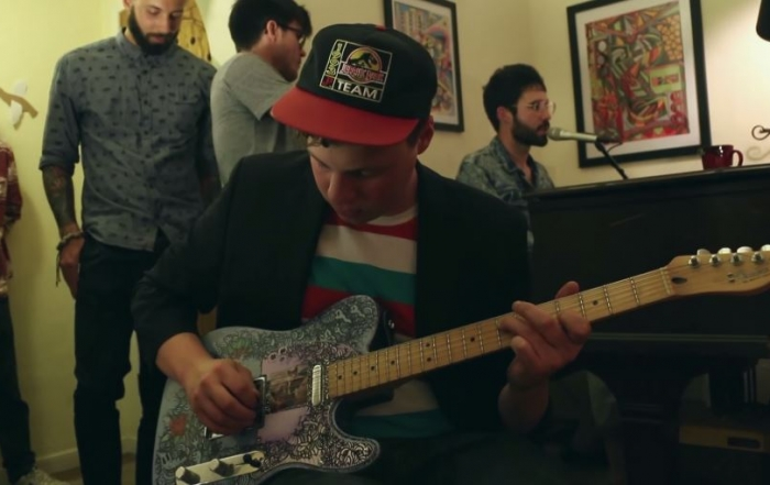 "Astronauts, etc. performs ""Sadie"" in living room session"