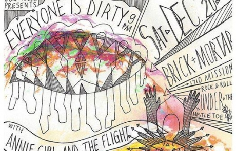 Our House collective hosts first holiday party TONIGHT at Brick & Mortar with Everyone Is Dirty, Annie Girl and the Flight, and more