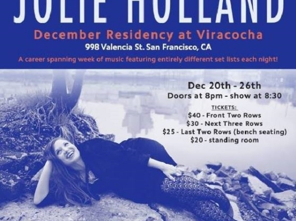 Jolie Holland's Viracocha residency continues