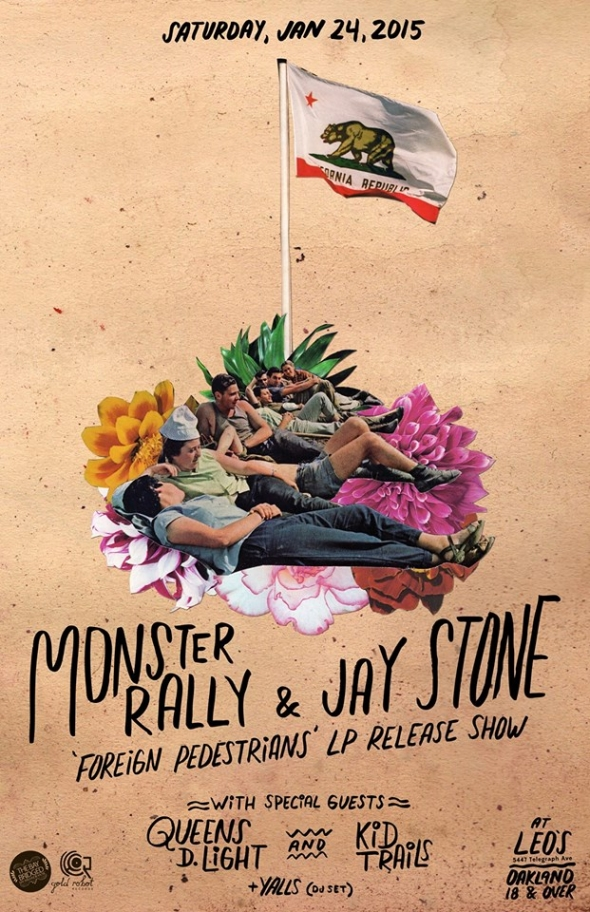 This Week in SF, 1/19-1/25/15: Monster Rally & Jay Stone, Phosphorescent, Joel Gion, The Donkeys