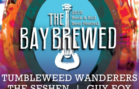 Announcing the Brewers of The Bay Brewed 2015, Our Rock and Roll Beer Festival!