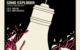 Song Exploder Noise Pop Poster (feature)