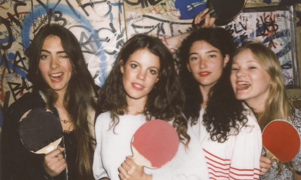 Hinds (fka Deers) headlining Rickshaw Stop tonight
