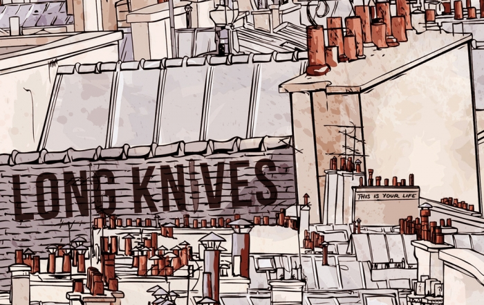 Oakland's Long Knives to play record release show at Thee Parkside with Prawn and Frameworks