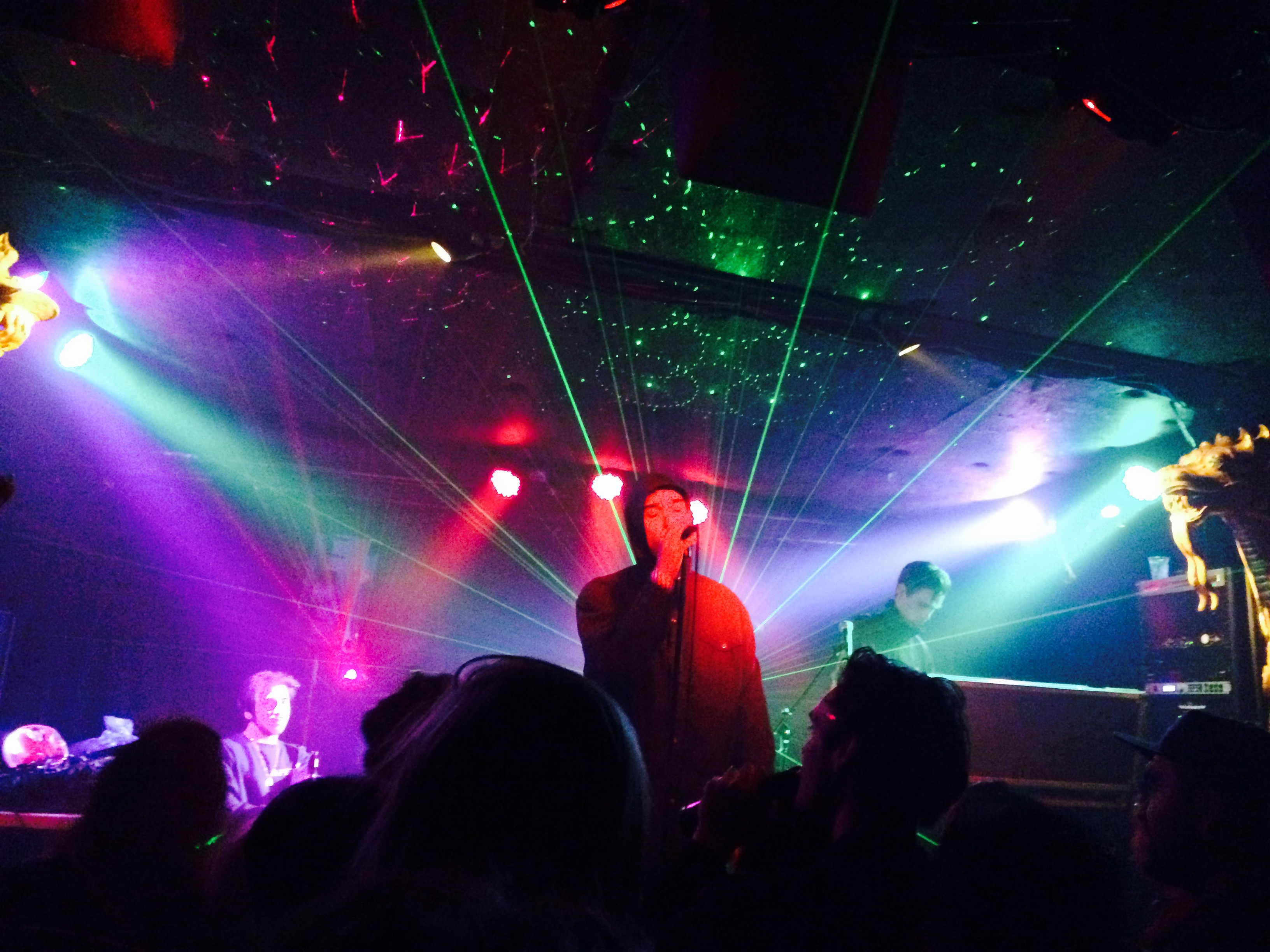 Review Lust For Youth plays to a problematic crowd at Elbo Room