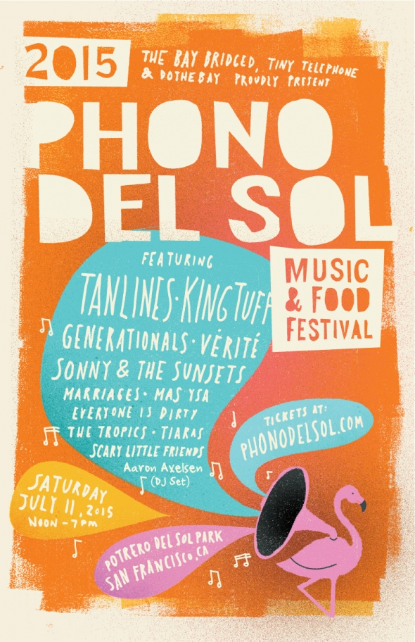 Phono del Sol 2015 is coming: important info for festival attendees