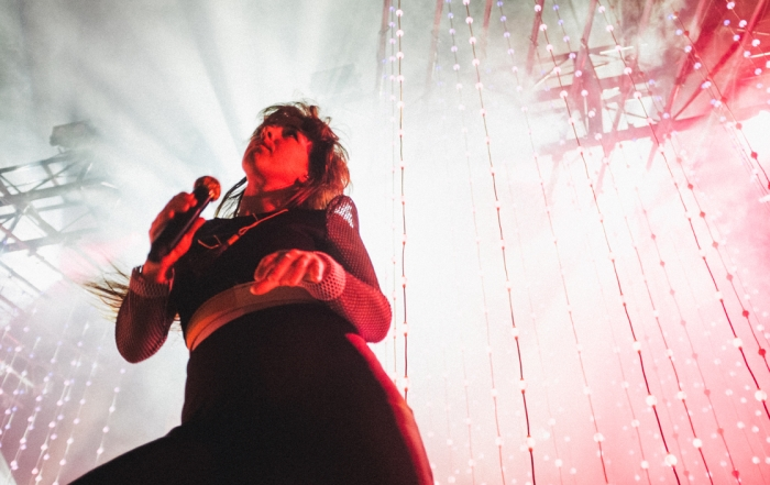 Photos: Purity Ring at the Fox Theater