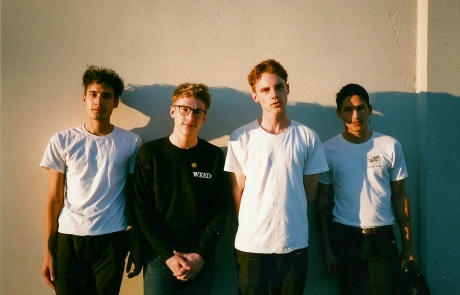 Never Young and Happy Diving announce West coast tour