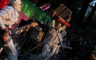 The Mummies at Burger Boogaloo, by Molly Champlin