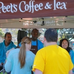 Peet's Coffe at Phono Del Sol 2015, By Jon Ching