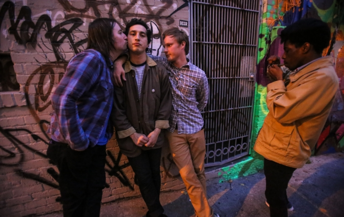 Oakland indie quartet Conversation's new record comes out this week