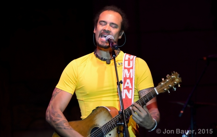 Photos:  Michael Franti & Spearhead at The Mountain Wintery