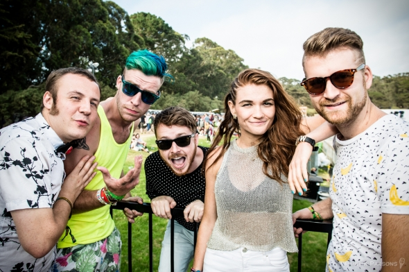 MisterWives at Outside Lands, by Paige Parsons