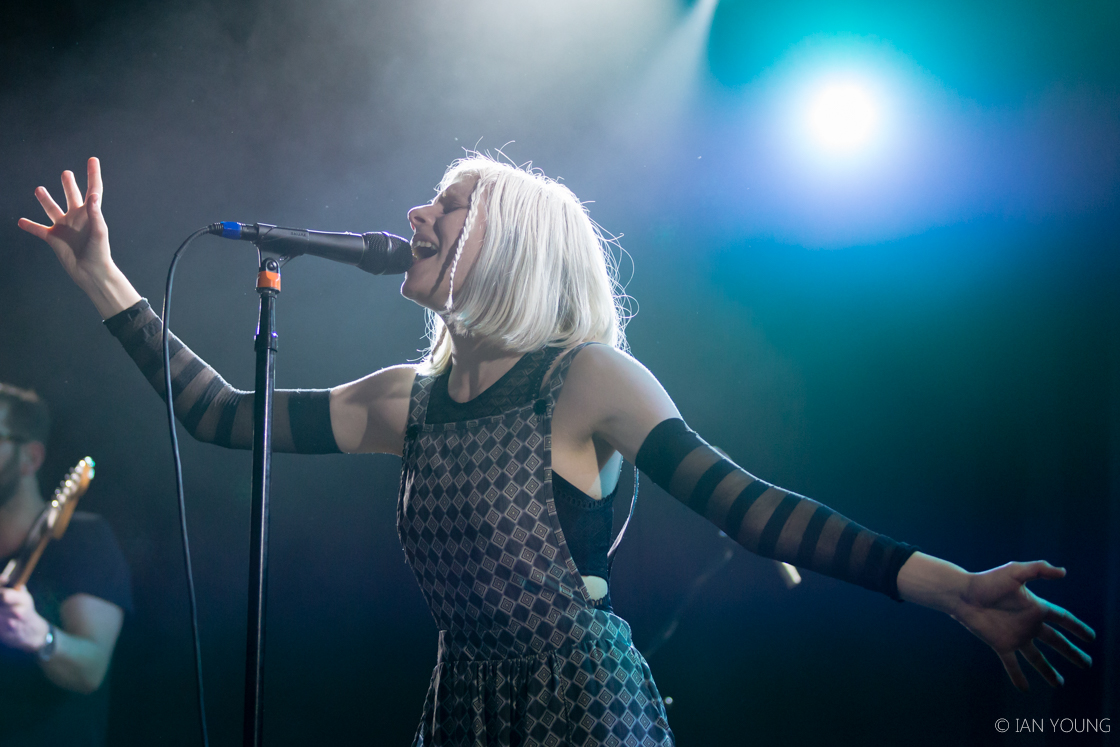 Review + Photos: Aurora shines a light at the Independent - The Bay ... Oasis Band Album Cover