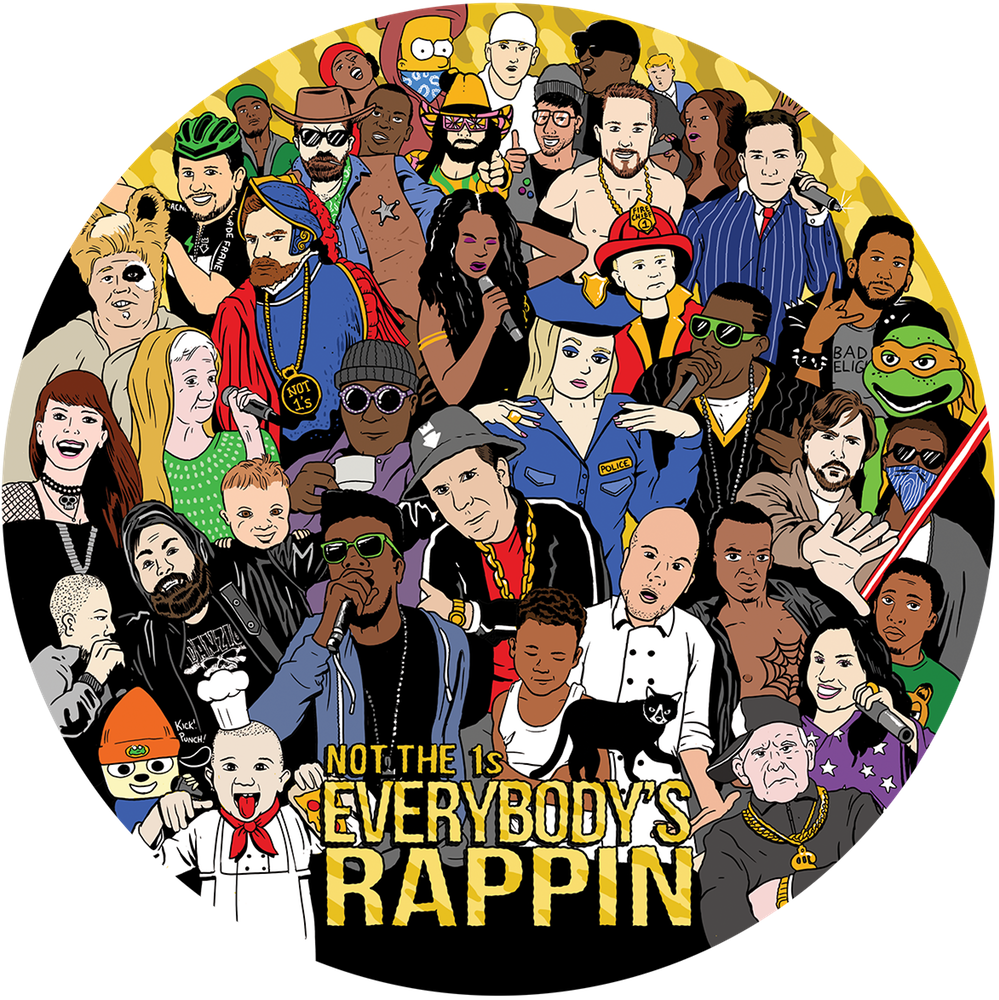Everybody's rappin