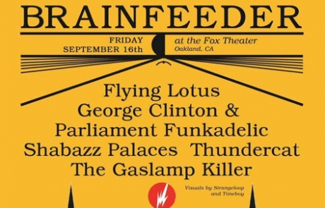 Brainfeeder take over the Fox with Flying Lotus, George Clinton and more