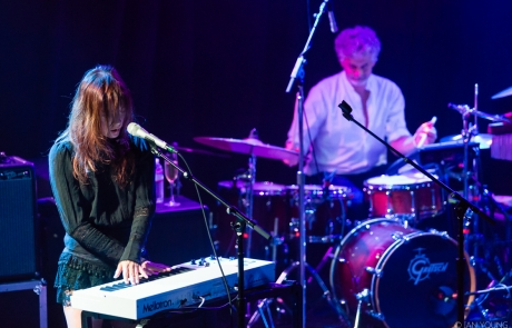 Photos: Blonde Redhead give a pensive performance at the Independent