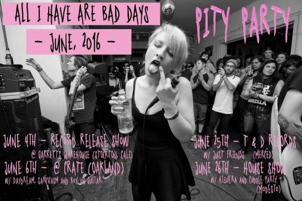 Pity Party tour schedule