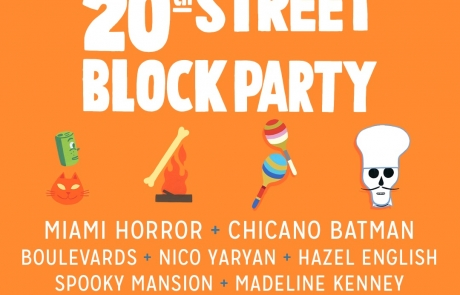 20th Street Block Party 2016 music lineup announced, plus new partnership and expansion!