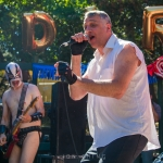 The Dwarves at Burger Boogaloo, by Jon Ching