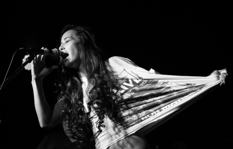 Photos: Leilani Wolfgramm and some special guests at the Elbo Room
