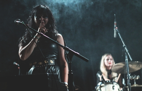 Photos: Death Valley Girls lead the pack at The Independent
