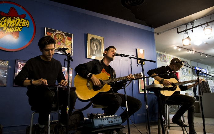 Photos + Review: Dreamers' record release show at Amoeba