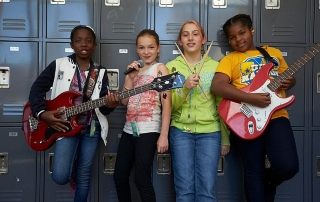 Bay Area Girls Rock Camp
