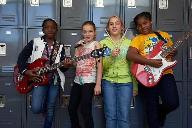 Bay Area Girls Rock Camp announce rock camp fundraiser